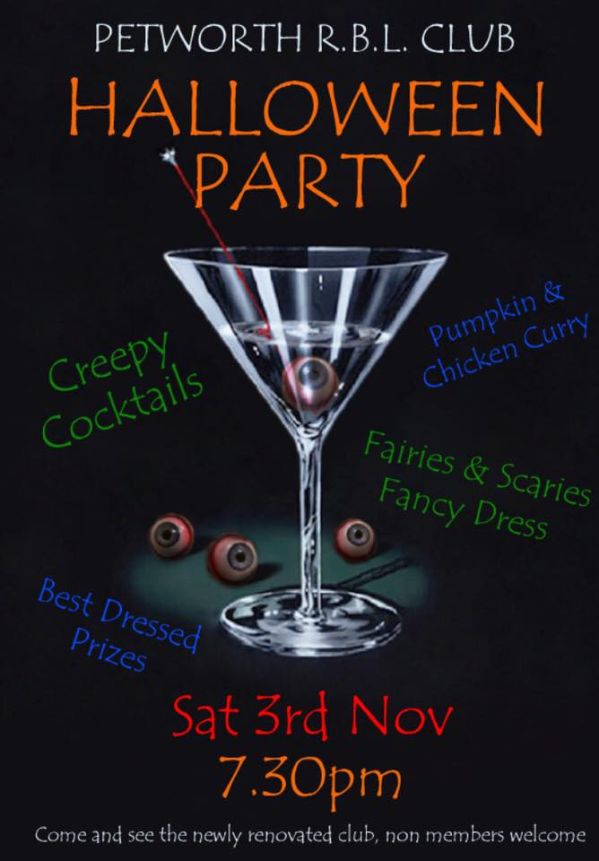 Halloween Party at the British Legion
