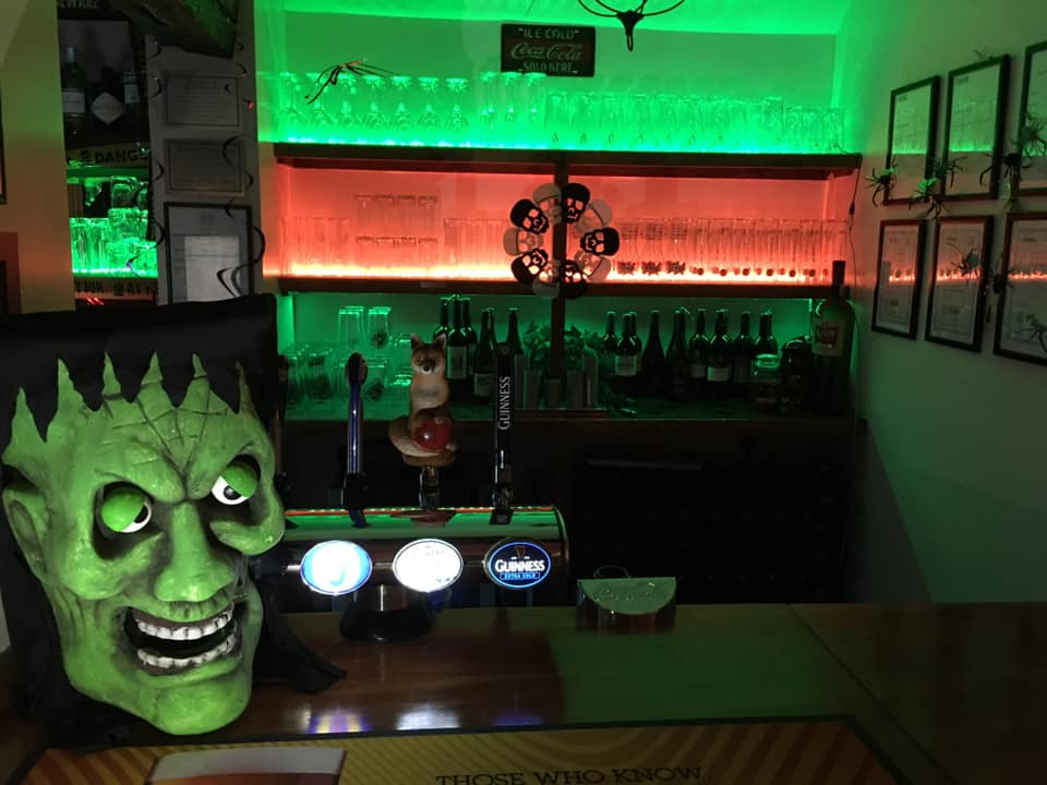 Halloween Party at The Three Moles