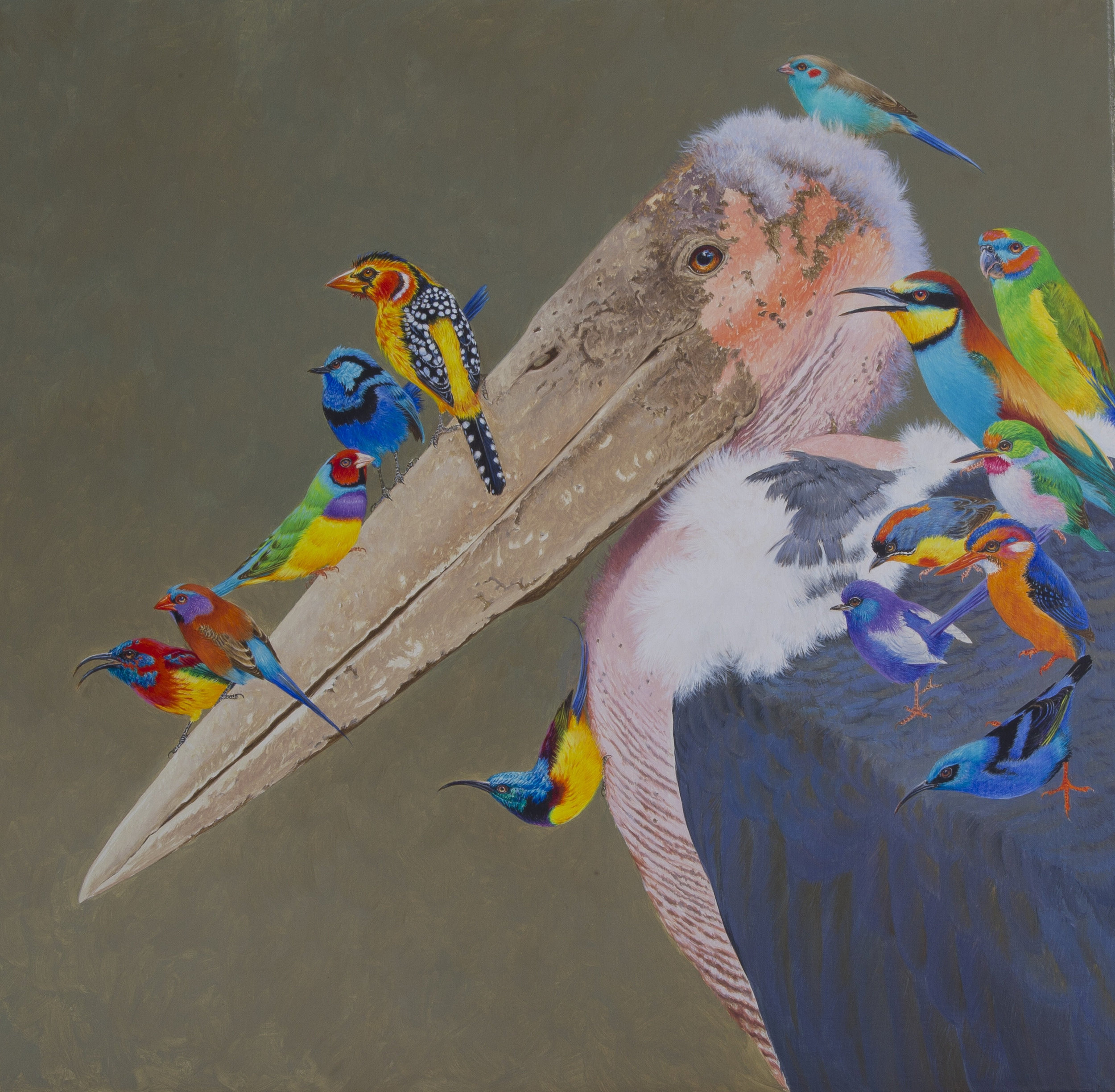 Aves Exoticae at Rountree Tryon Gallery