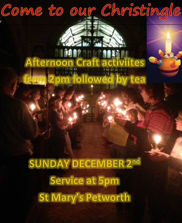 Craft Afternoon and Tea for Christingle