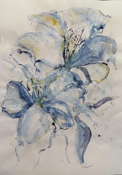 Fantastic Flowers in Ink with Alison Orchard at Moncrieff-Bray