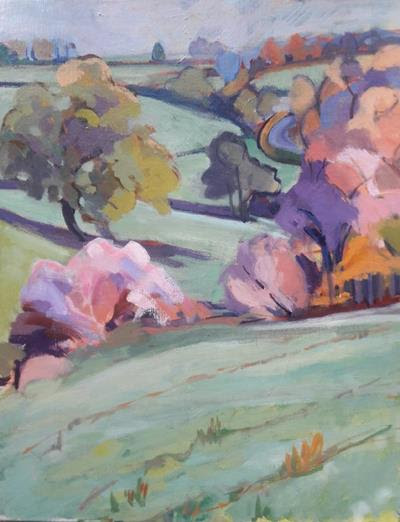 In the Footsteps of the Scottish Colourists with Jenny Tyson at Moncrieff Bray
