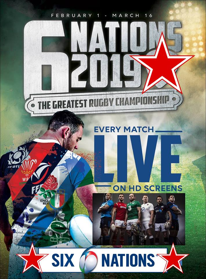Live Six Nations Rugby - England vs France