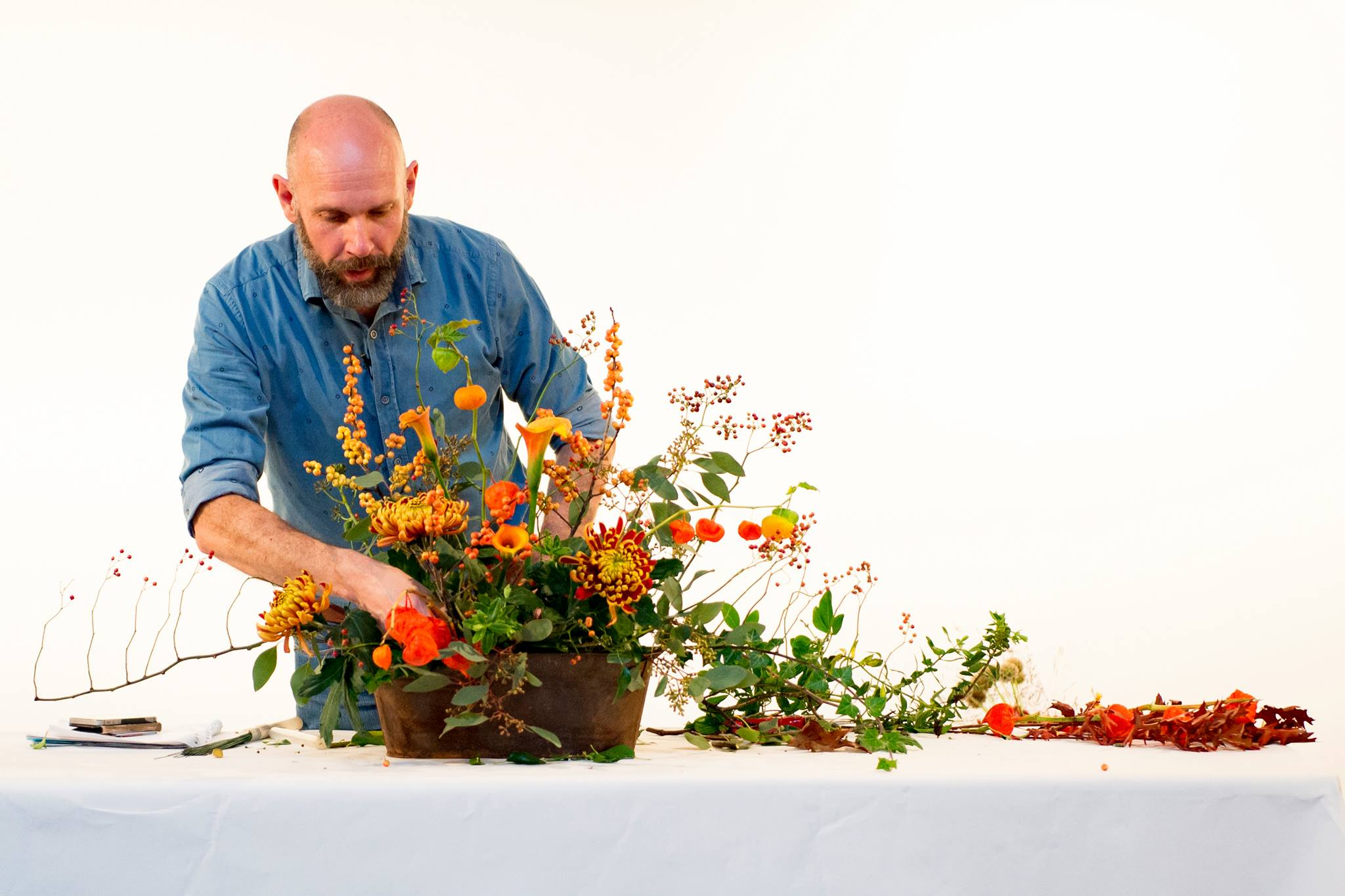 Floral Demonstration in aid of Petworth Cottage Nursing Home