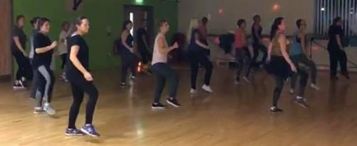 Zumba Class low intensity Zumba dance