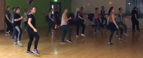 ZUMBA CLASS LOW INTENSITY ZUMBA DANCE