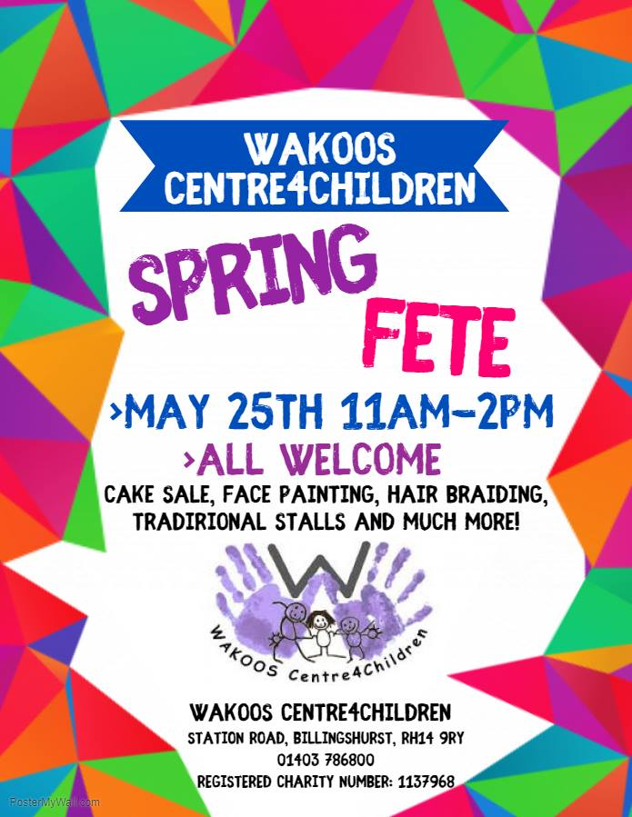 Wakoos Spring Fete