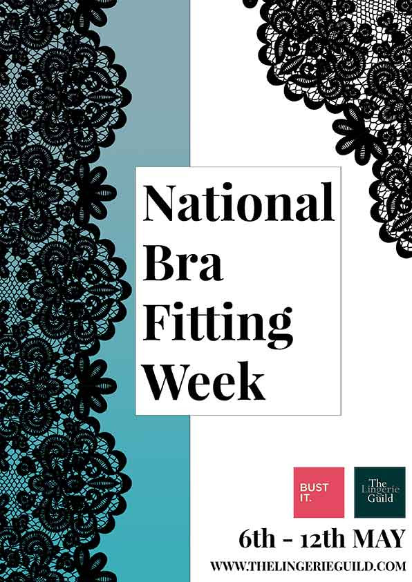 National Bra Fitting Week at Guilt Lingerie