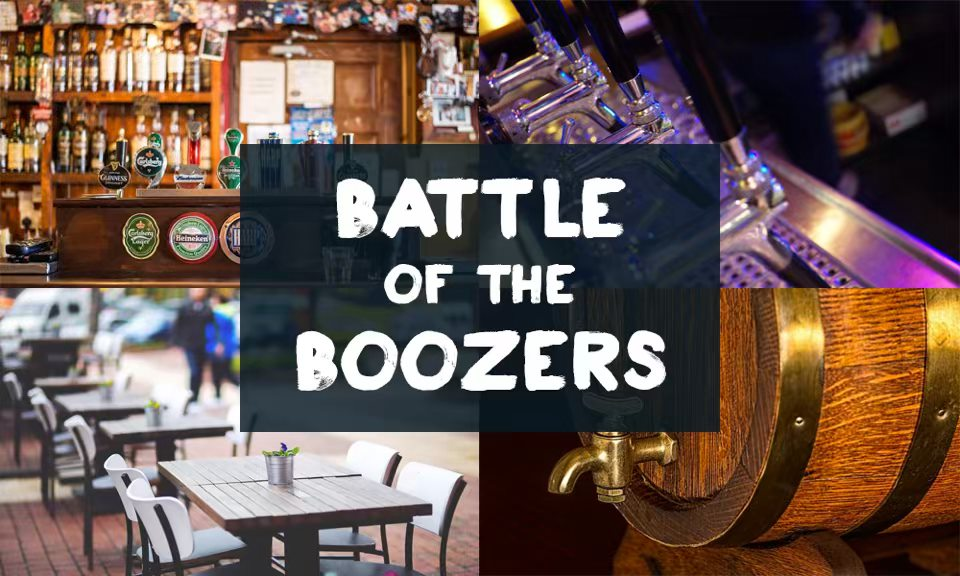 Battle of the Boozers - the FINALS!