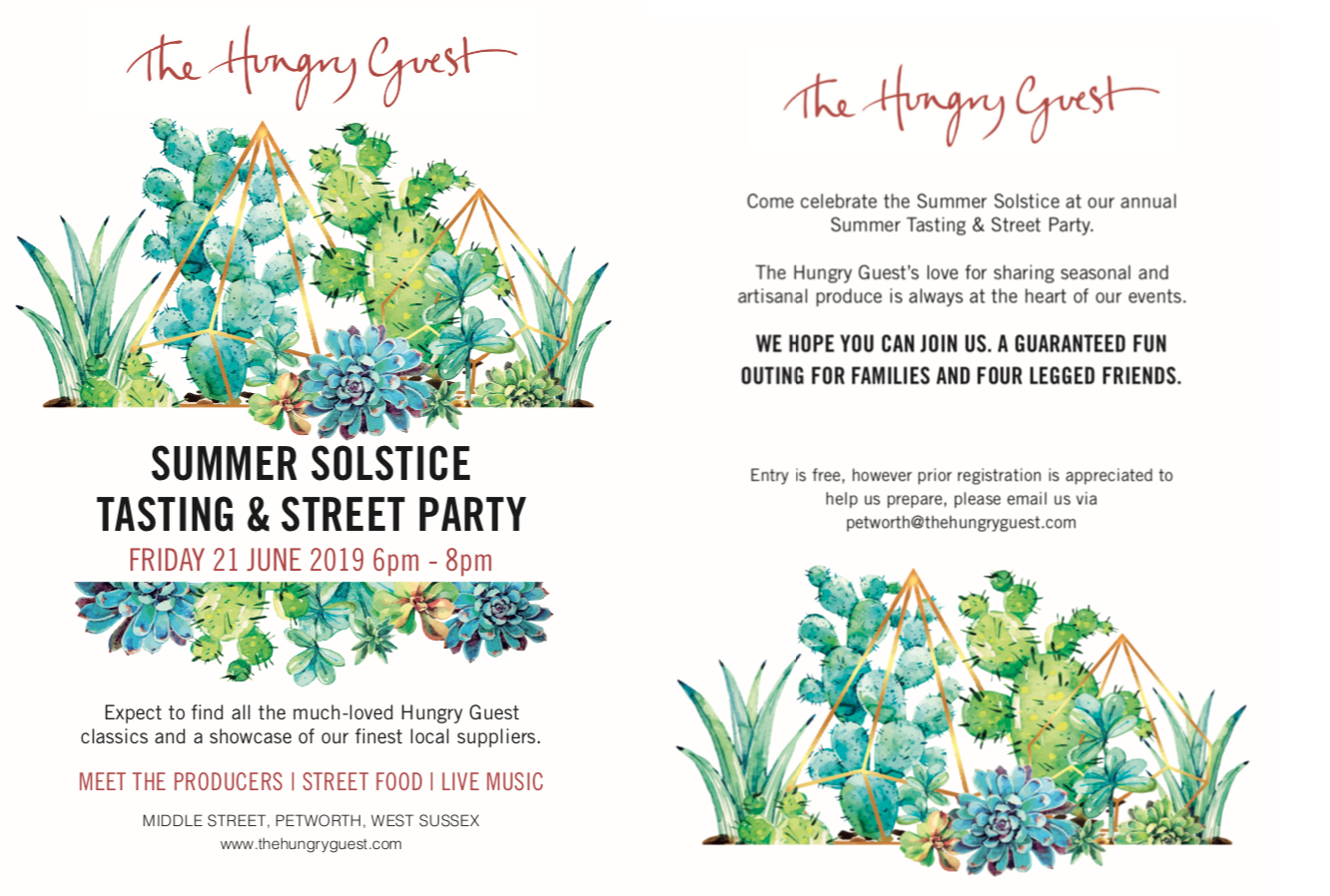 Summer Tasting & Street Party at Hungry Guest