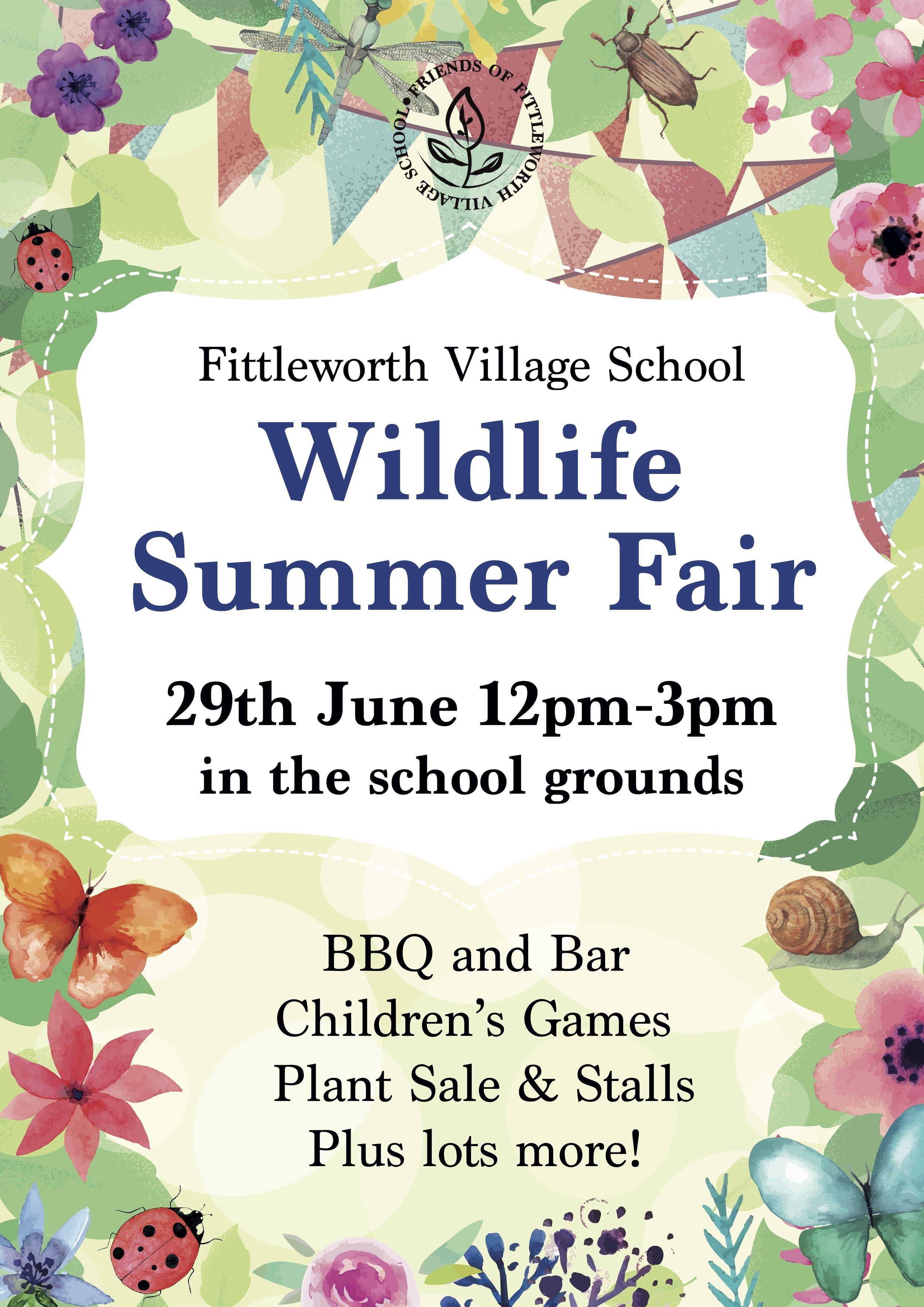 Fittleworth School Wildlife Summer Fair