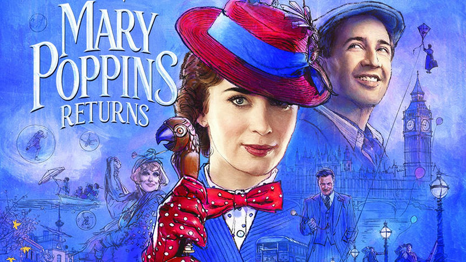 Mary Popping Returns - Free Outdoor Cinema