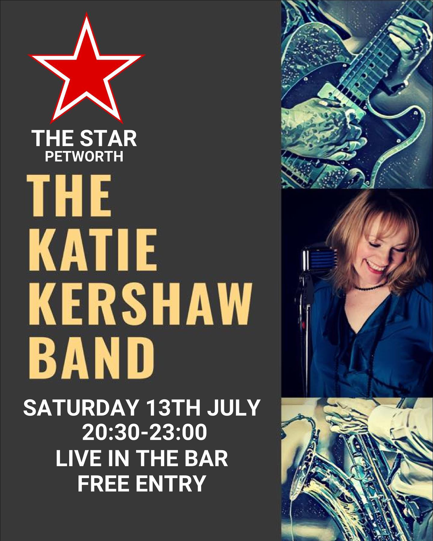 The Katie Kershaw Band LIVE
