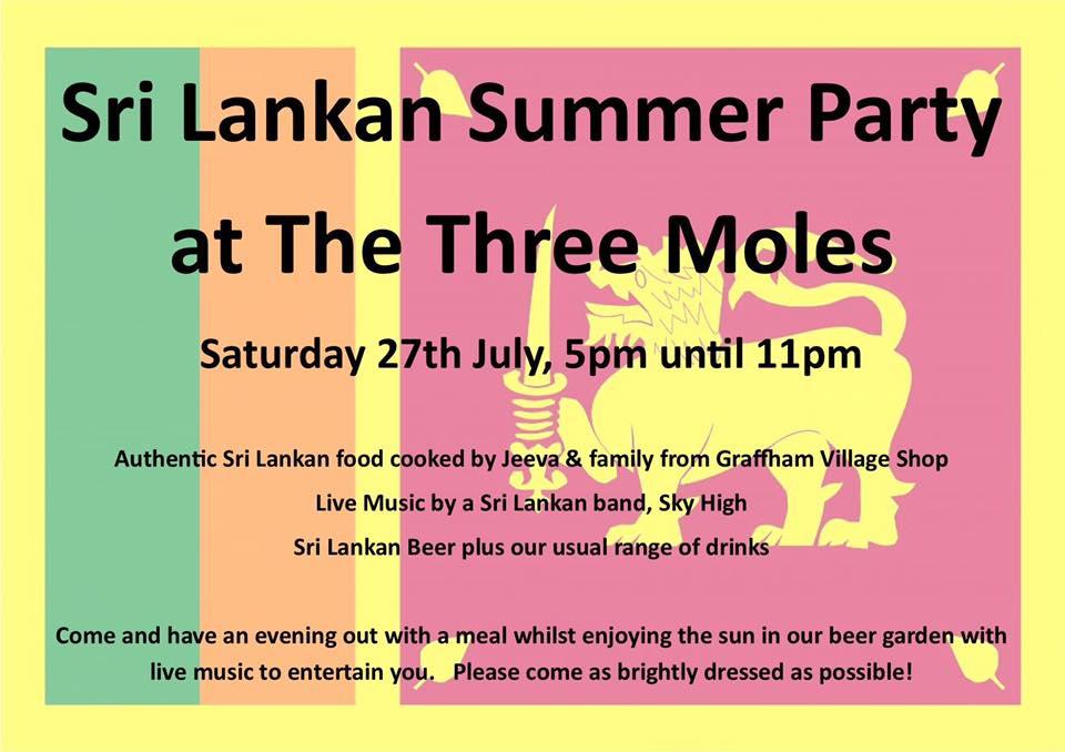 Sri Lankan Summer Party