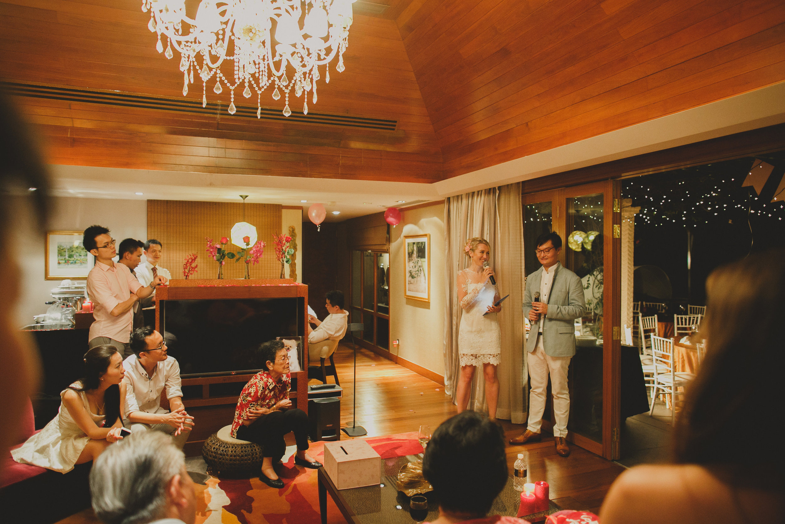 speeches by bride and groom