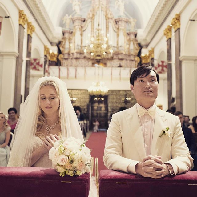 Marrying my hubby in the Catholic Church even though he is of different faith. I'm thankful for his understanding and selfless love. #asiasaidyes #vosego #asianboy #polisgirl #weddingplanner #weddingday #weddingveil #weddinghair #weddinggown #whitesuit #love #poland #warsaw #warszawa #singapore #stylemepretty #mixedcouple #catholic