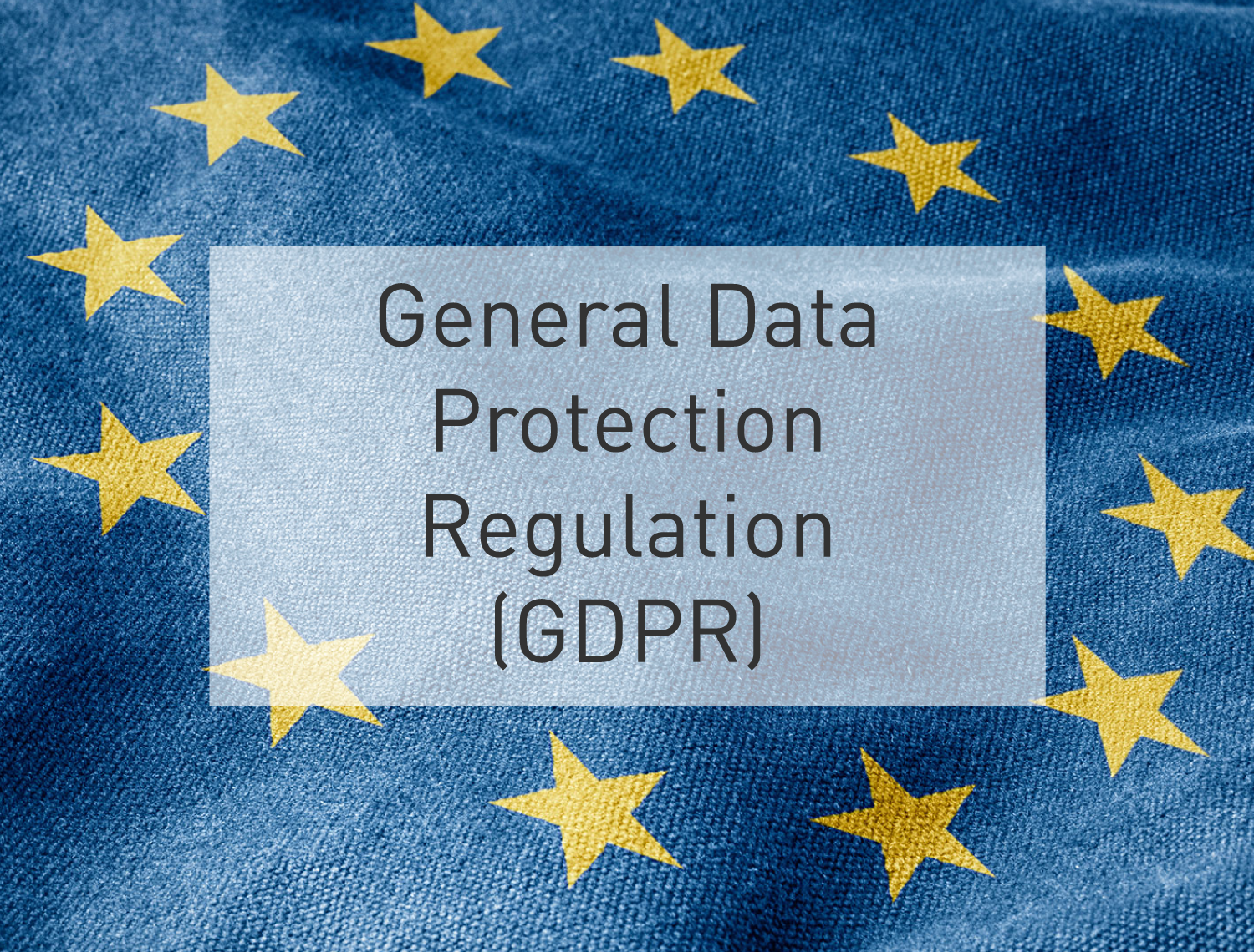 General Data Protection Regulation GDPR eLearning Training