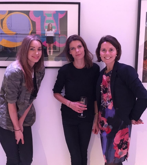 With portrait contributor and YouTuber Emily Hartridge, and huge Headcase supporter, Jessica Chivers.