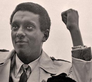 Kwame Ture, known as Stokely Carmichael in 1968