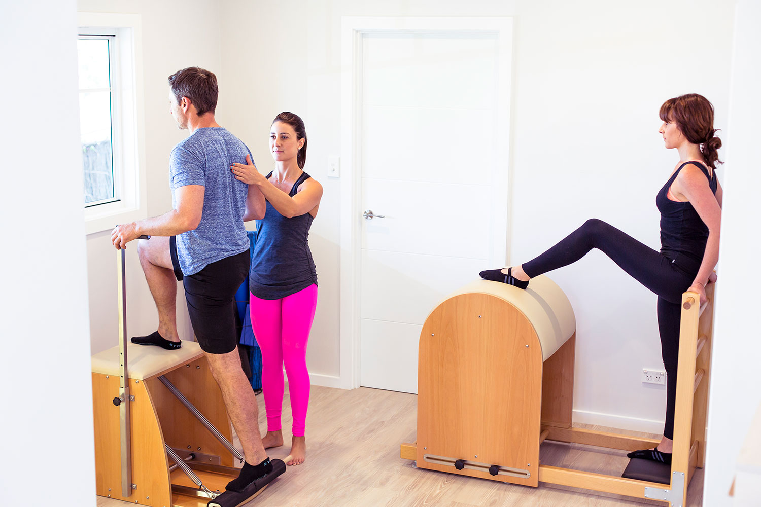 Meet us in the studio - New to I AM Pilates offer: Initial Consultation + 1 Private Studio Session = $150Our new client offer is designed to help you to understand more about the Pilates principals, get familiar with the studio machinery and to discuss your goals and needs. After the initial consultation you will enjoy another private session where you will have a better grasp of the method whilst exploring the repertoire- all under the guidance of our amazing and highly trained Pilates instructor, Carolina Longo.