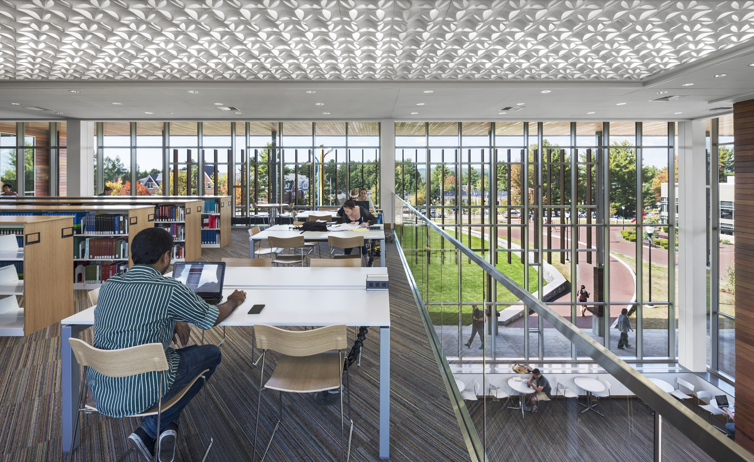 Edward S. Wolak Library Learning Commons
