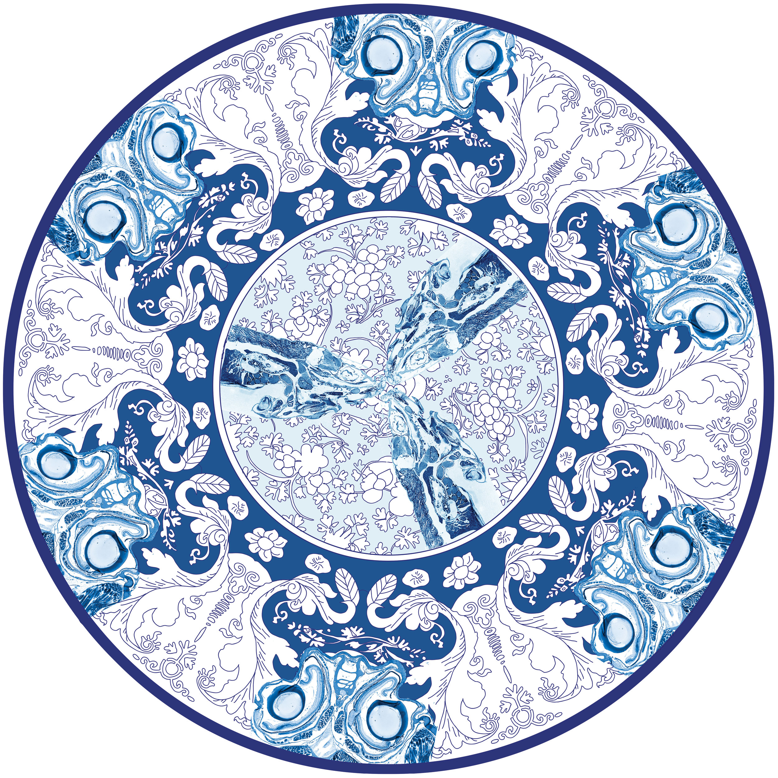 Delft Blue Design No.5