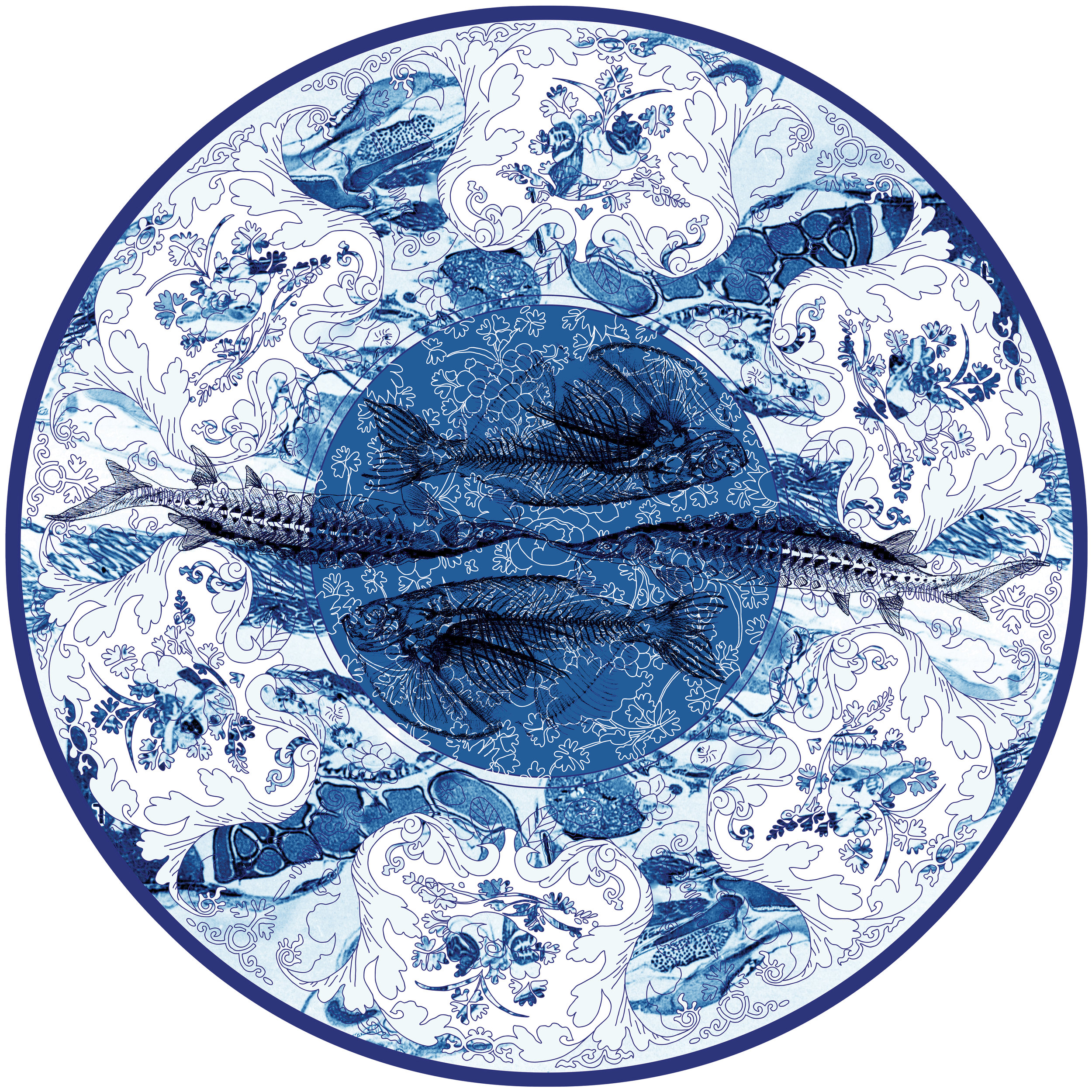 Delft Blue Design No.6