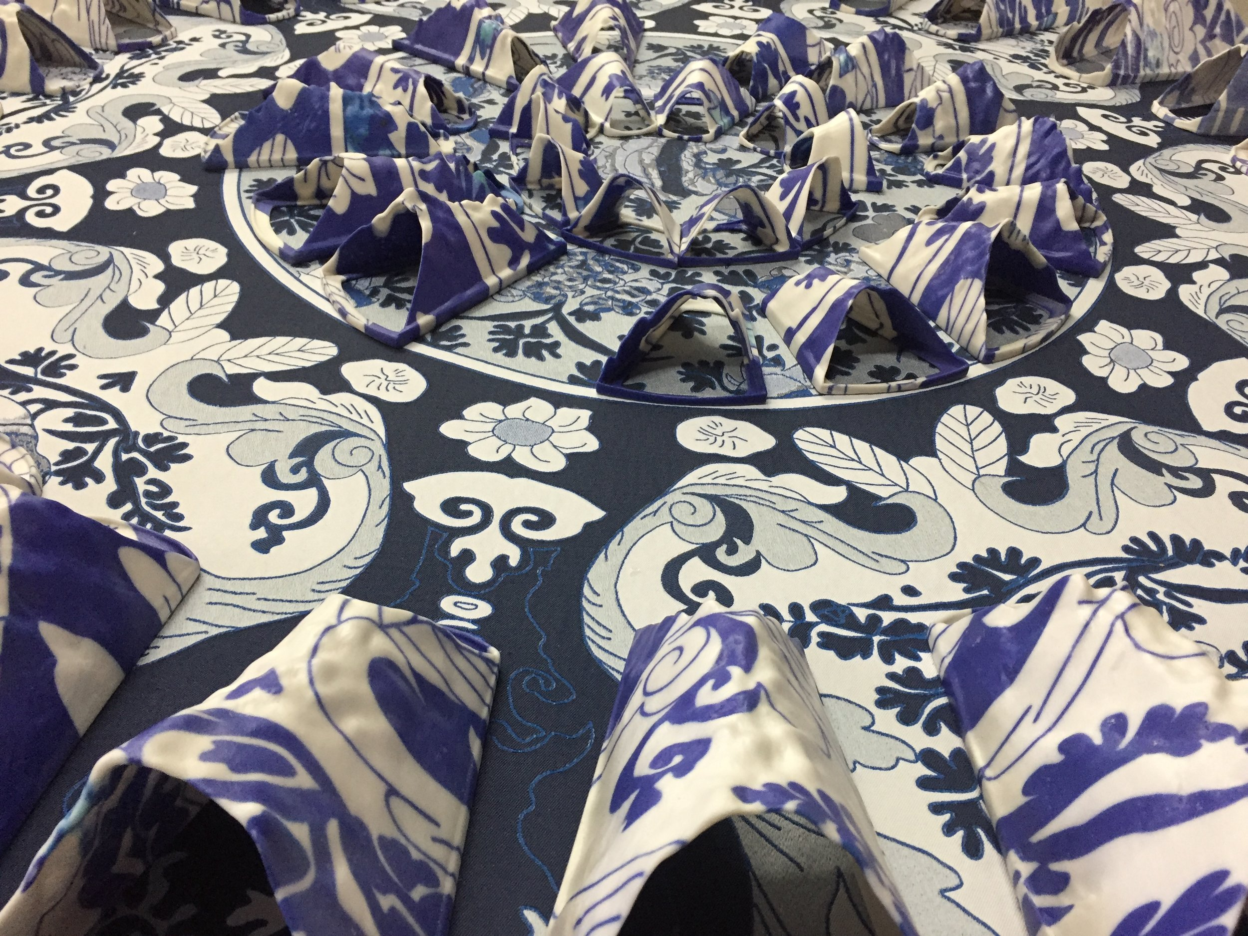 Delft Blue Jacquard and 3D Printing