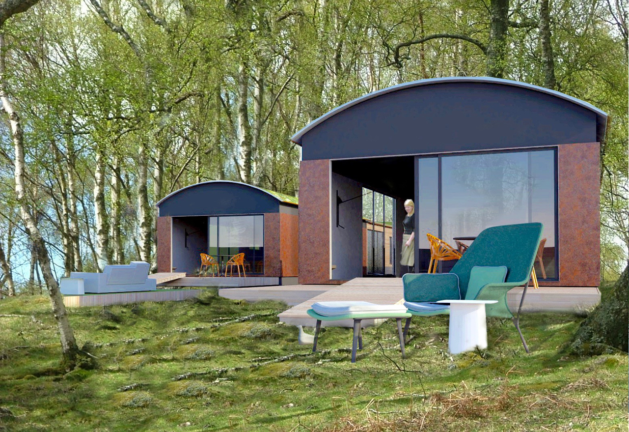 Three Bedroom Holiday Home in a Birch Wood