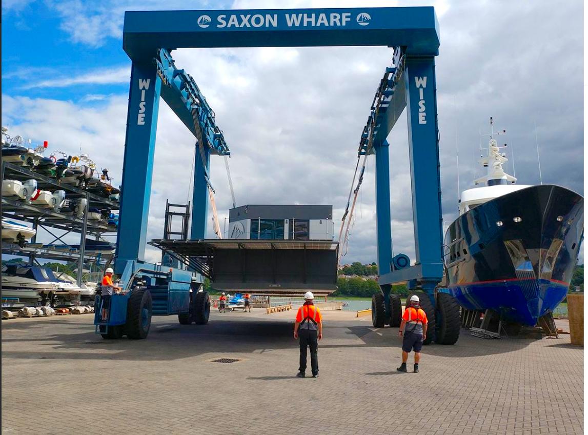 Launch at Saxon Wharf.png