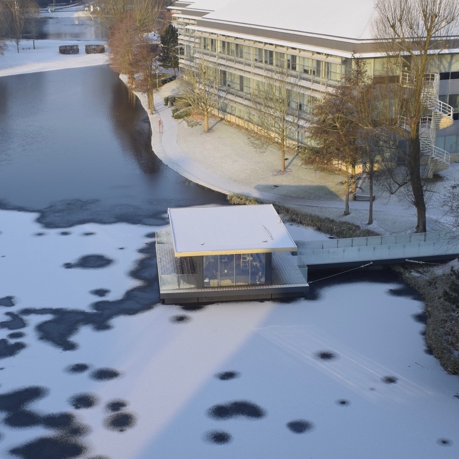 Eco Pavilions on a Frozen Lake.jpg