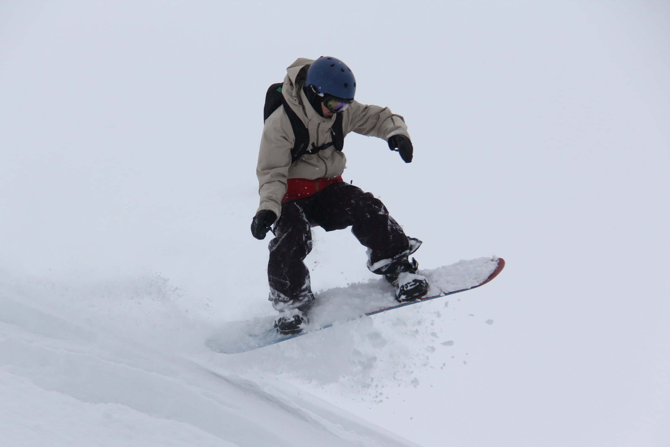 Yes this is our son the cancer survivor heli-boarding in Canada!