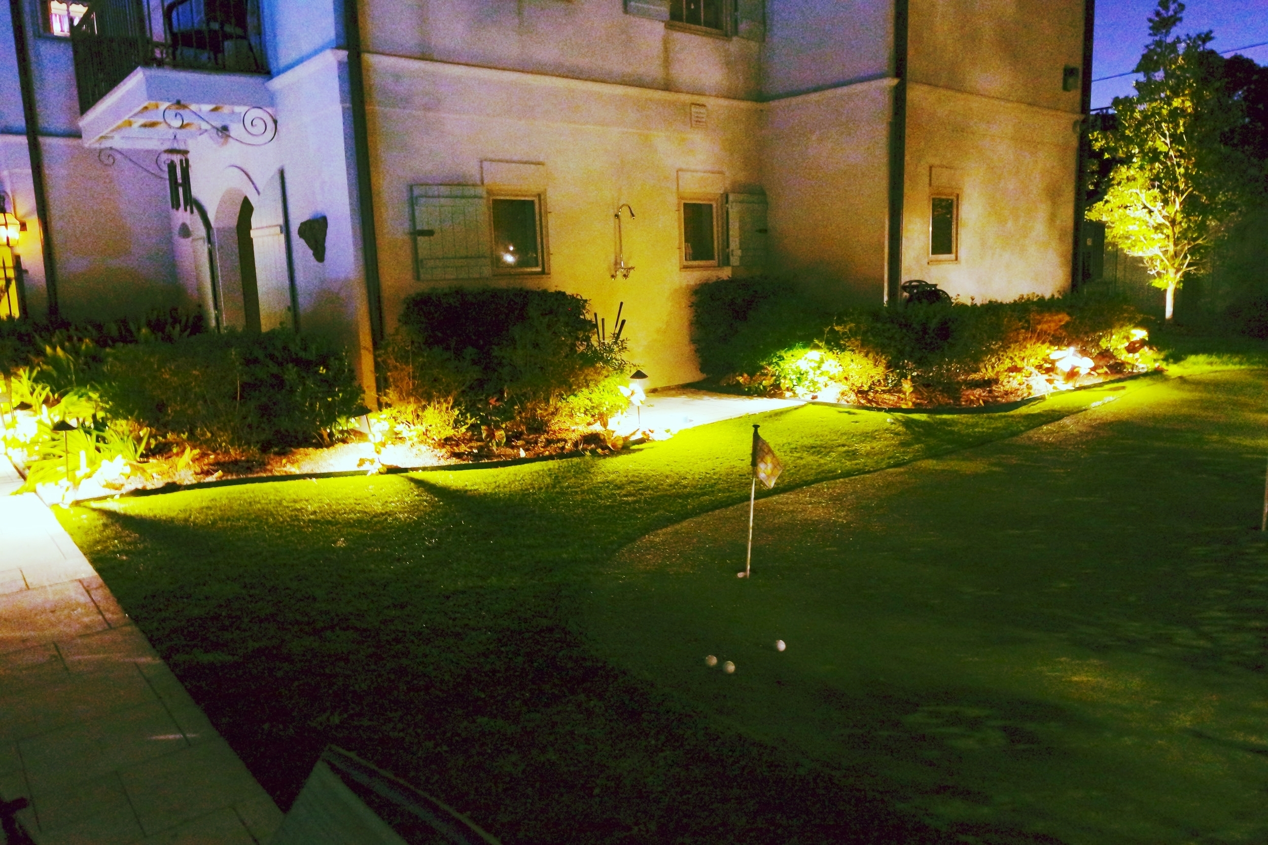 Turf Grass Putting Green Residential New Orleans