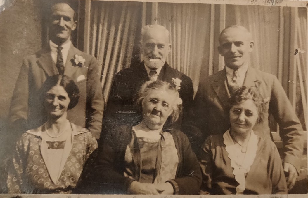 Henrietta Willingale - my Great Great Grandmother (bottom row, centre)