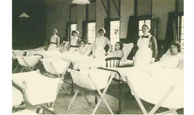 Maternity Ward in High Beech, Epping Forest during WWII
