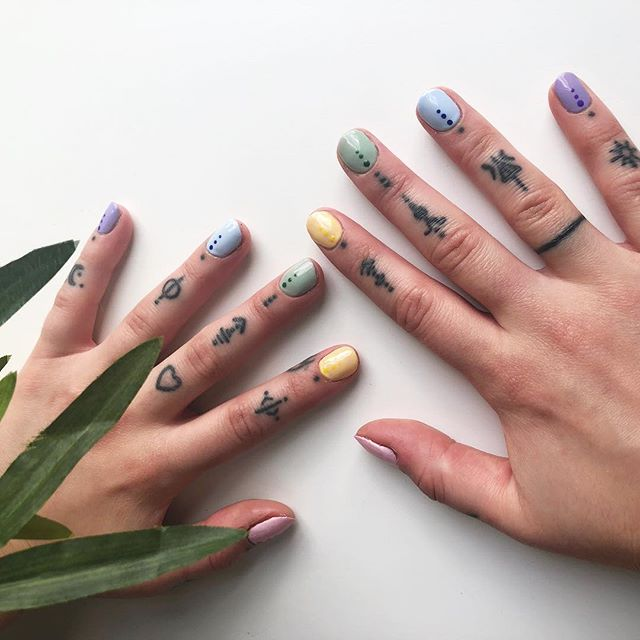 the cutest nails everrrrrrr ily @mmcgurnxo