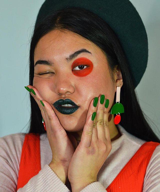 @julz.fernandez for @saraandloom 💫 ... .. . . #likeforlike #makeupinspo #colorfulmakeup #makeupartist #aesthetic #motd #creativemakeup #recent #colorful #makeup