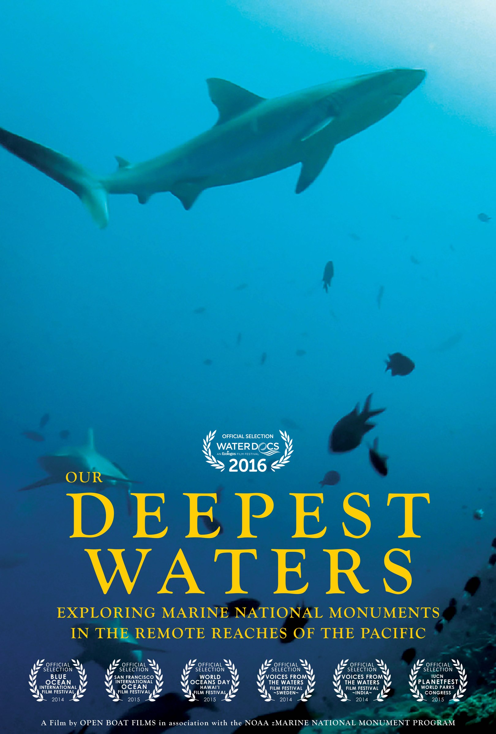 Our Deepest Waters: Exploring Marine National Monuments in the Remote Reaches of the Pacific (2014, 20 min, USA)