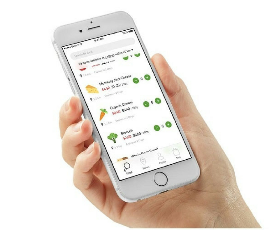 Flash Food - The newly launched Flash Food app connects you with food in Toronto from participating grocery stores that is about to go to waste - at a discount. You can see what is available at each store, purchase it through the app and pick it up on the same day. While there are a limited number of stores currently registered, we're willing to bet money this is going to spread throughout the GTA.Flash Food fits into a Zero Waste lifestyle because it allows us to use food that would otherwise be thrown away. 1.3 billion tons of food is wasted annually around the world, much of it days or even weeks before its expiry date. Food that ends up in landfills releases methane gas - which has 25 times the global warming potential as carbon dioxide.