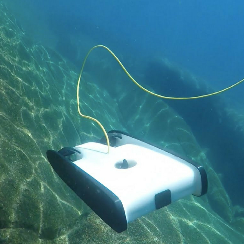 Underwater Drones - People around the world have begun employing OpenROV's drones to see what's going on under the surface of our oceans. They are being used as less expensive options to watch for signs of ocean acidification and warming, monitoring fish populations to prevent overfishing and collecting data to look for significant climate change related impacts along coastlines. One scientist hopes to use the data collected by drones to declare the Salish Sea a World Heritage Site.Read more about the use of underwater drones online here.