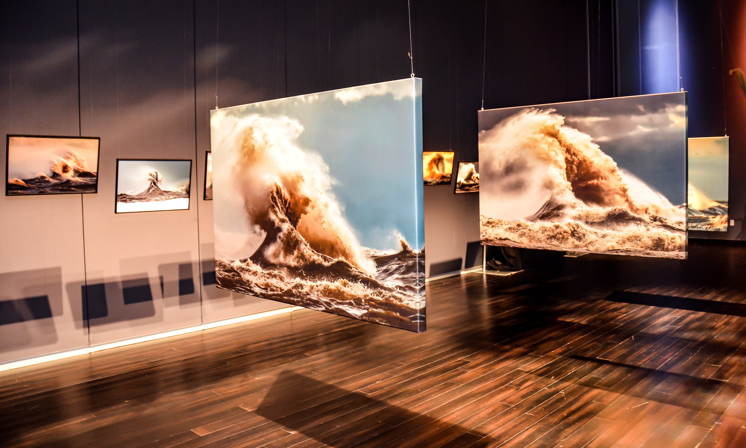 Water Docs held the first public exhibit of Dave Sandford's magnificent photos of Lake Erie.
