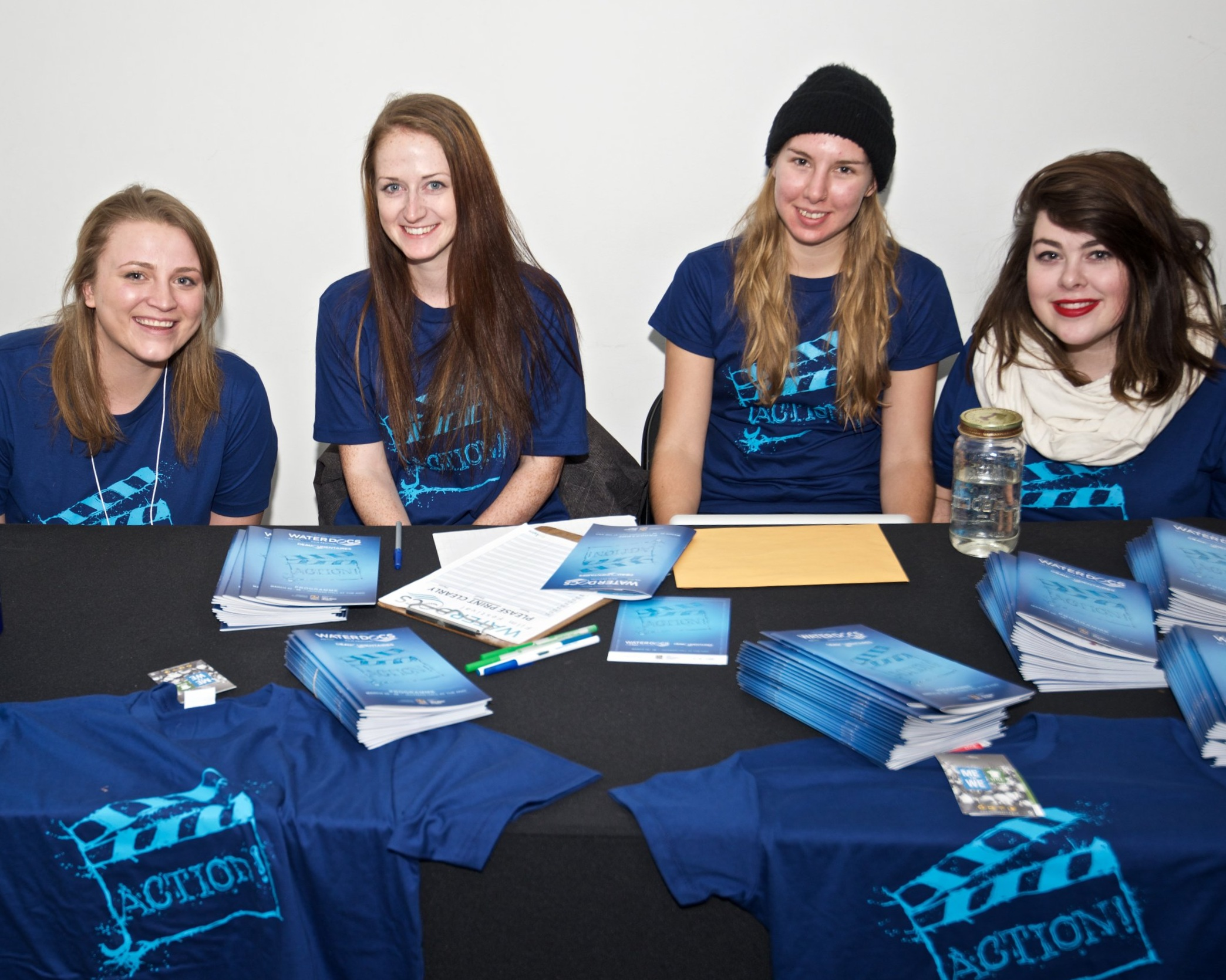 Volunteers at the 2015 Water Docs Film Festival