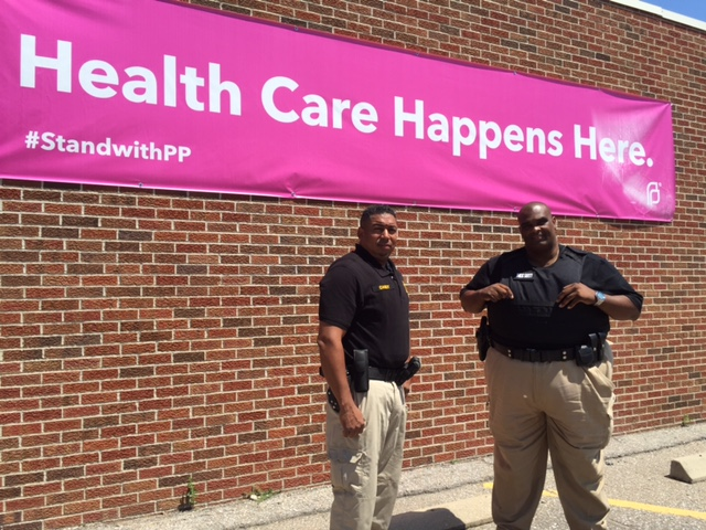Security at Planned Parenthood