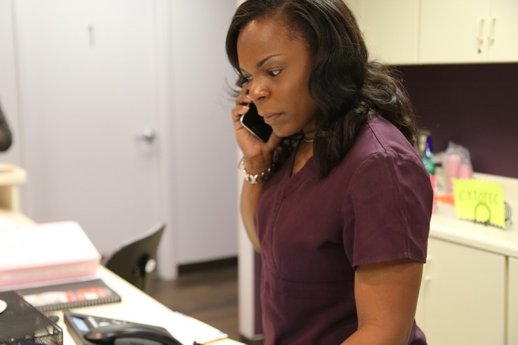 Dr. Yashica Robinson from 'Trapped'