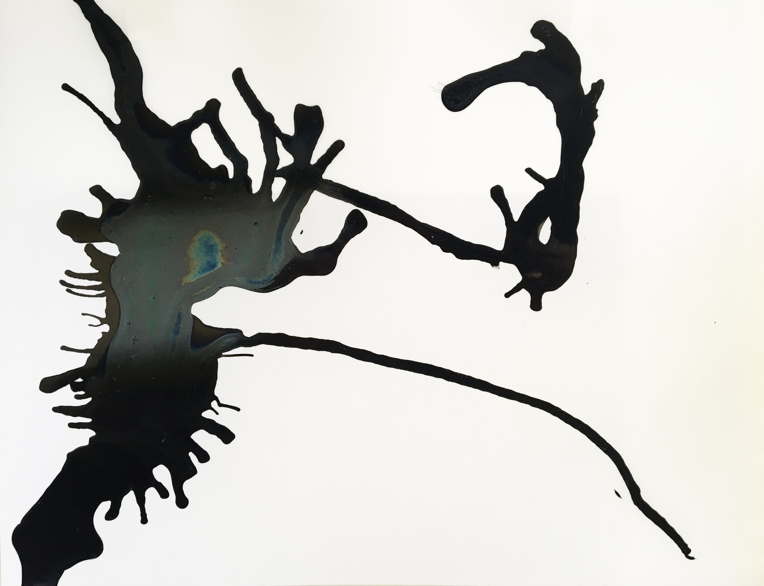 "Amoco Cadiz '78, 2017  11"" x 17"", Ink on Vellum  ©kellycorrell"