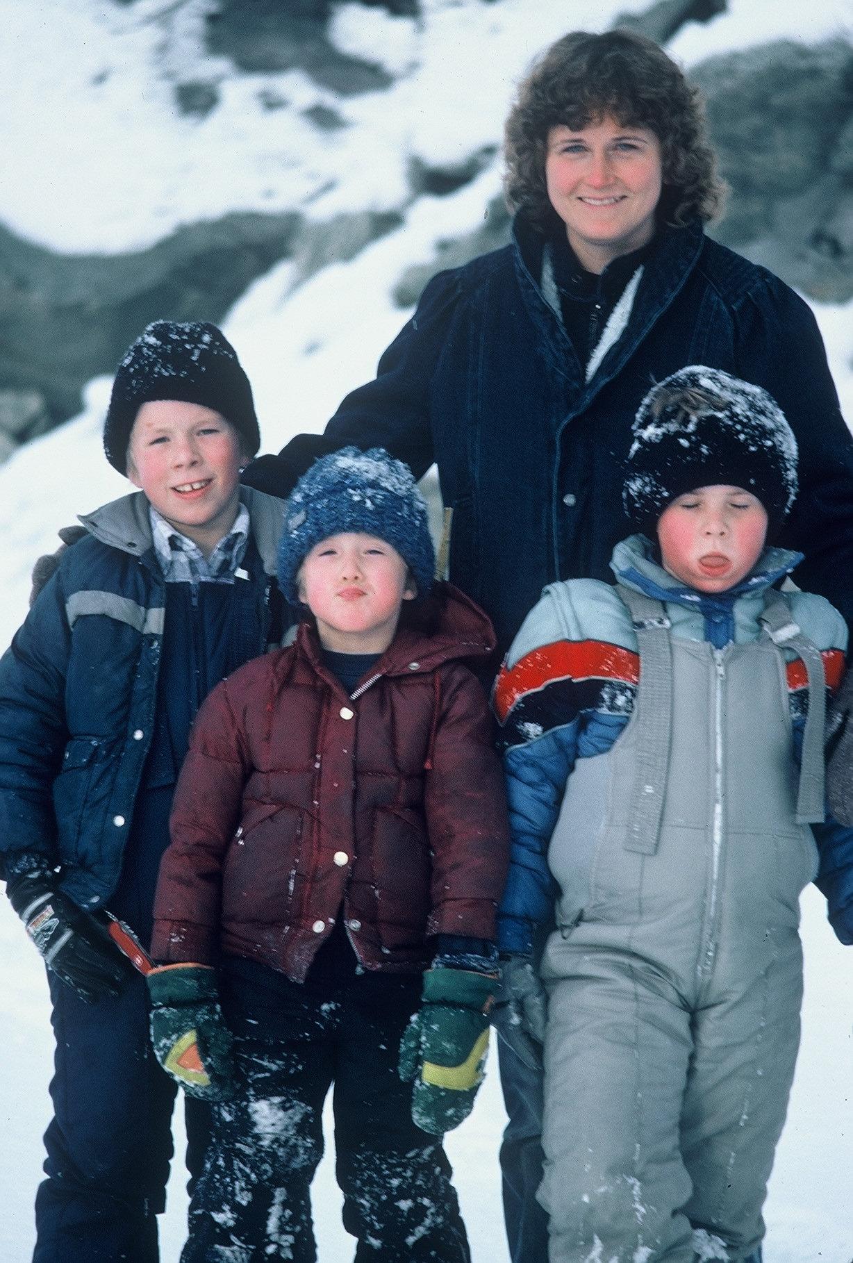At Valdez Glacier with Bill, Casey, Skeet