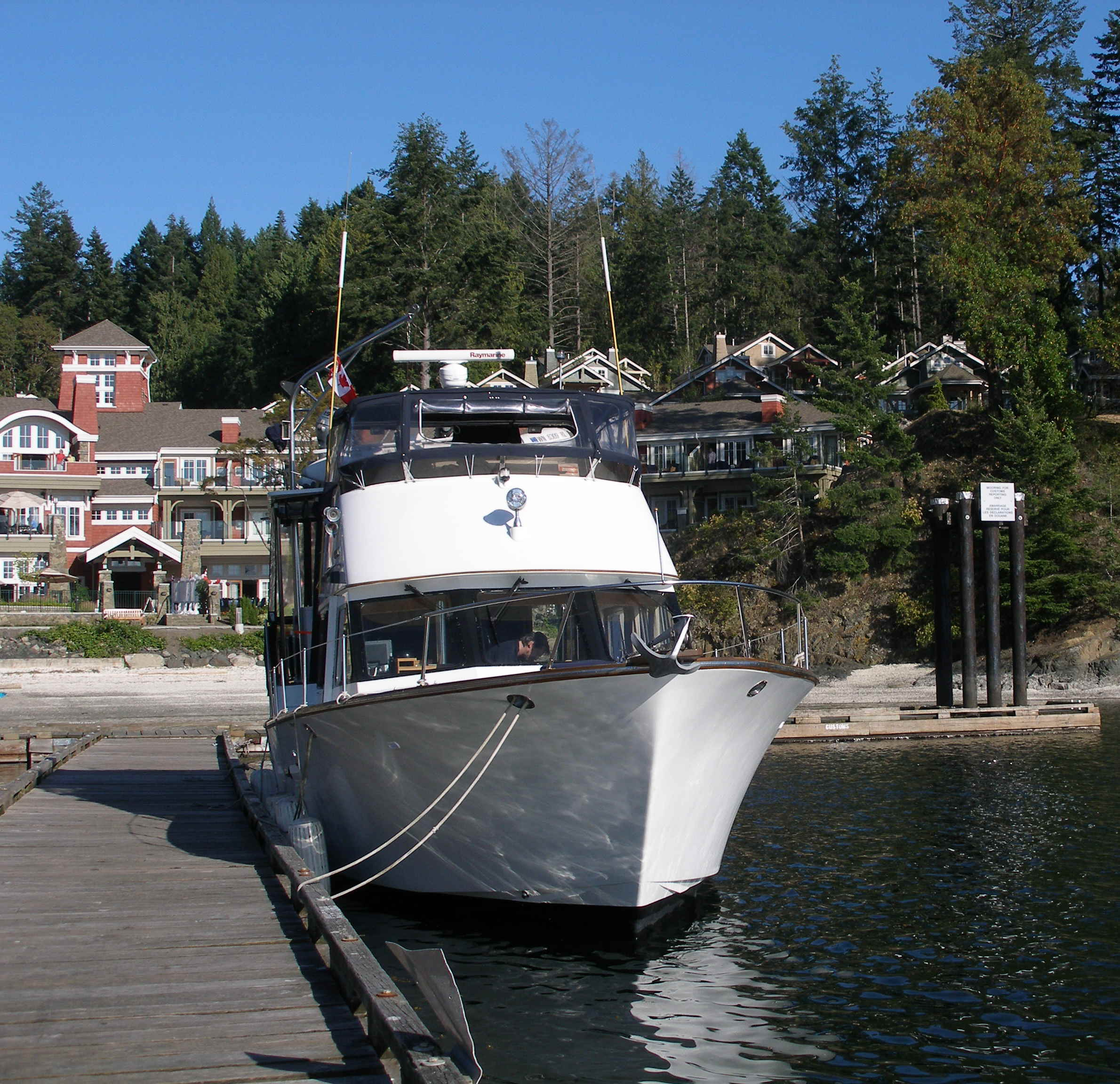 The Best Friends heading north at South Pender Island, British Columbia