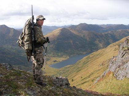elk hunt, Raspberry Island, Alaska