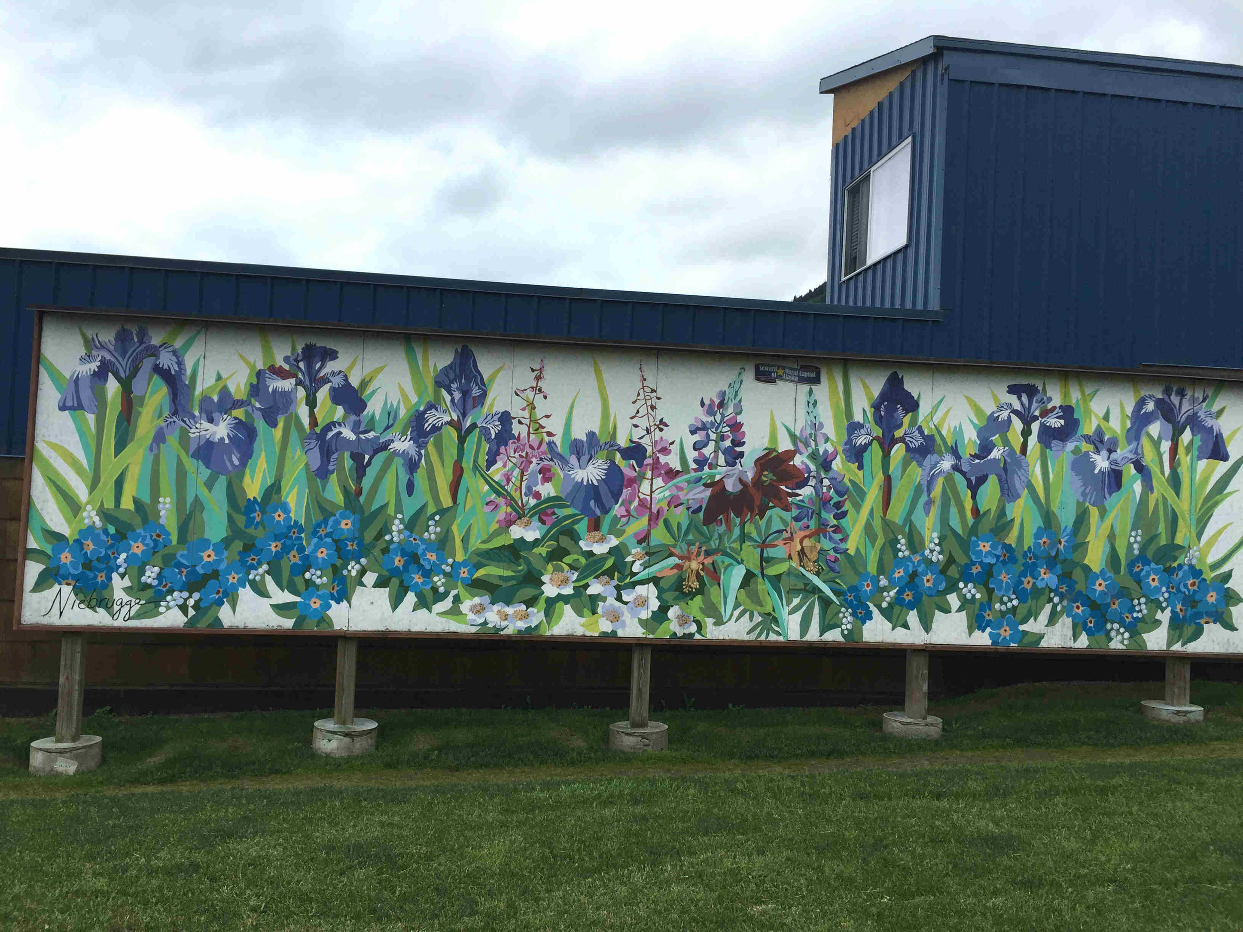 I've counted 35 murals. Did I miss any?