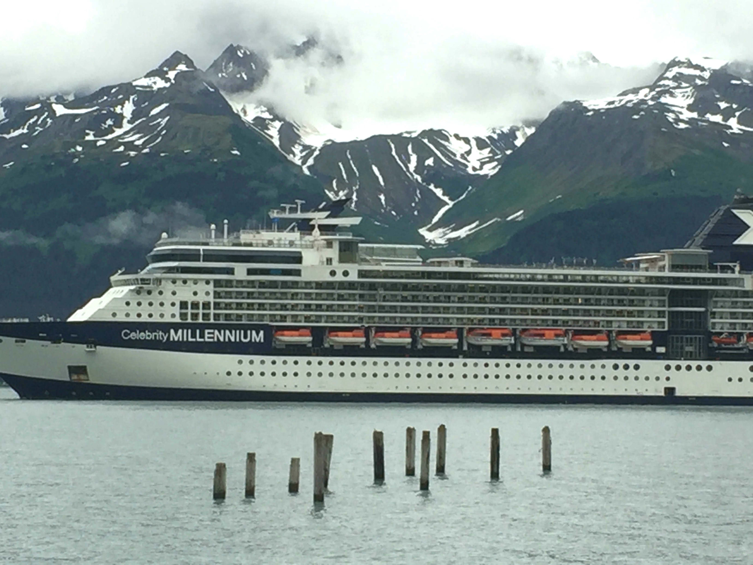 several cruise lines visit Seward regularly